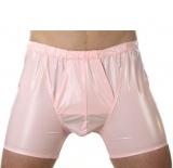 Herren Unterhose mit Eingriff Halbbein PVC