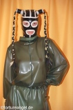 Punish Suit / nappie overall latex lockable