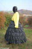 Petticoat Reifrock Stufenrock Latex