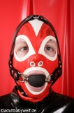 Ball-Gag Headharness with lockable option