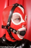 Ballknebel Kopfgeschirr Gummi Option abschließbar