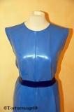 Kleid/Shirt Latex ärmellos knielang viele Optionen