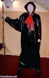 Hauskleid Kaftan PVC, Kimono-Stil
