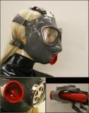 "Latexmaske ""Sicherheit Pur"""