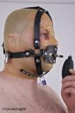 Butterflyknebel Kopfgeschirr mit Druckball