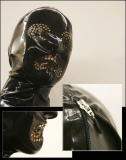 Latexmaske Burka