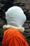 Maske aus Schafpelz