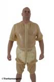 Windel-Hemdhose Latex Bermuda Halbarm mit Optionen