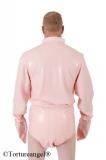 Body Latex Langarm mit Stehkragen und Optionen