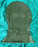 Kopfsack Latex Burka rund Option abschließbar