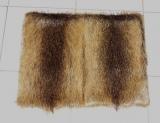 Pelzkissen 50x50 cm, Nutria, Fuchspelz, Hamster, Bisam oder Marderhund
