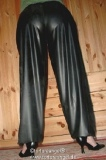 Jogging trousers latex long legs