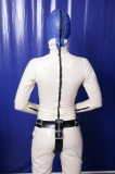 Strap on belt with optional plugs and lockable