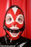 Ring gag head harness option lockable