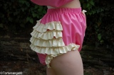 Diaper Slip WITH FRILLS latex with options