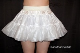 Petticoat Polyester doublelayer white