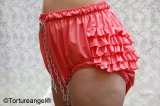 Diaper Slip WITH FRILLS PVC with options