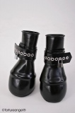 Pony hoofs with hand cuffs option lockable of Fetisso