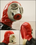 Latexmaske Rubbertotal
