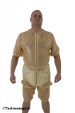 Windel-Hemdhose Latex Bermuda Halbarm mit Optionen